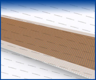 conveyor belt tracking - film edging