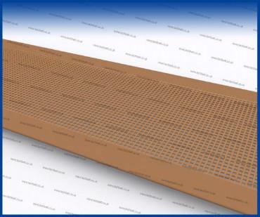 conveyor belt tracking - Glass edging
