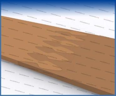 Spade Belt Joints image similar to finger joint