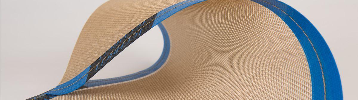 Cereal drying conveyor belt