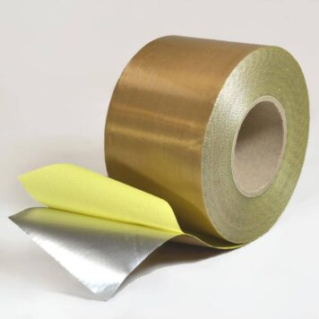 brown detectable tape