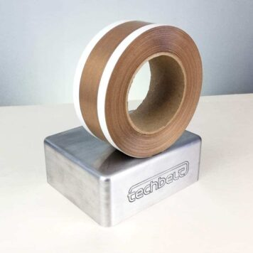 Teflon PTFE Coated Zone Tape White