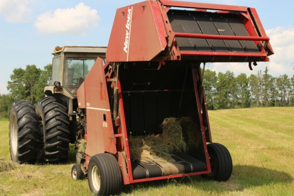 Round Baler for Farm with Belting