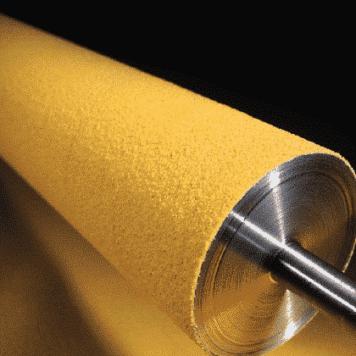 Conveyor Belt Roller Laggings - Soft Grit Pattern