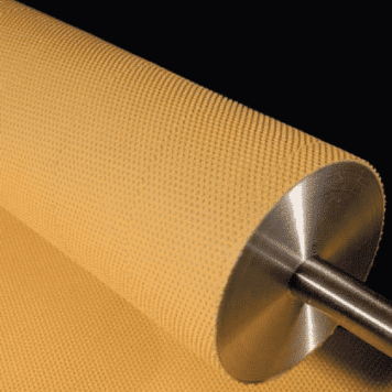 High Temperature Pimpled Conveyor Roller Lagging