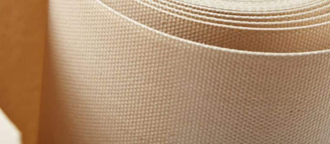 closed weave PTFE carpet back curing belts